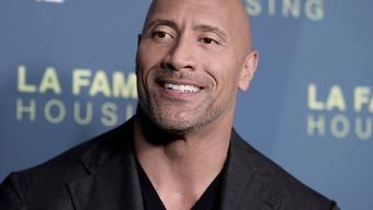 Stolzer Vater dreier Töchter: Schauspieler Dwayne Johnson freut sich über die Geburt seiner Tochter Tiana Gia. (Archivbild)