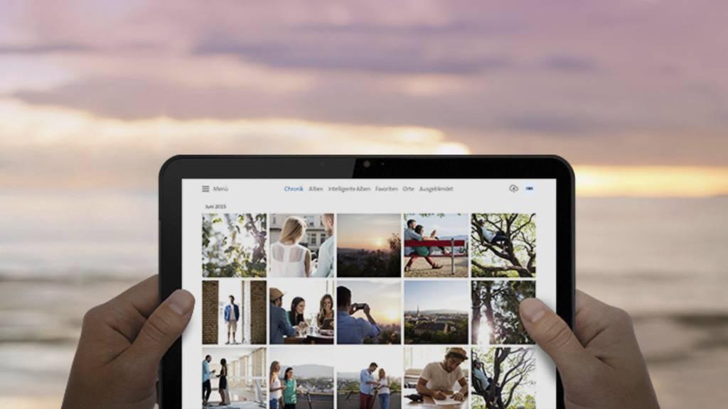 Mit «MyCloud» sind Fotos und Videos sogar am Strand abrufbar – ausser eben, sie wurden gelöscht. (Archivbild)