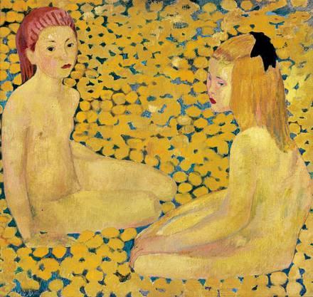 Cuno Amiets «Die gelben Mädchen», 1935 (Kopie der Urfassung 1901).