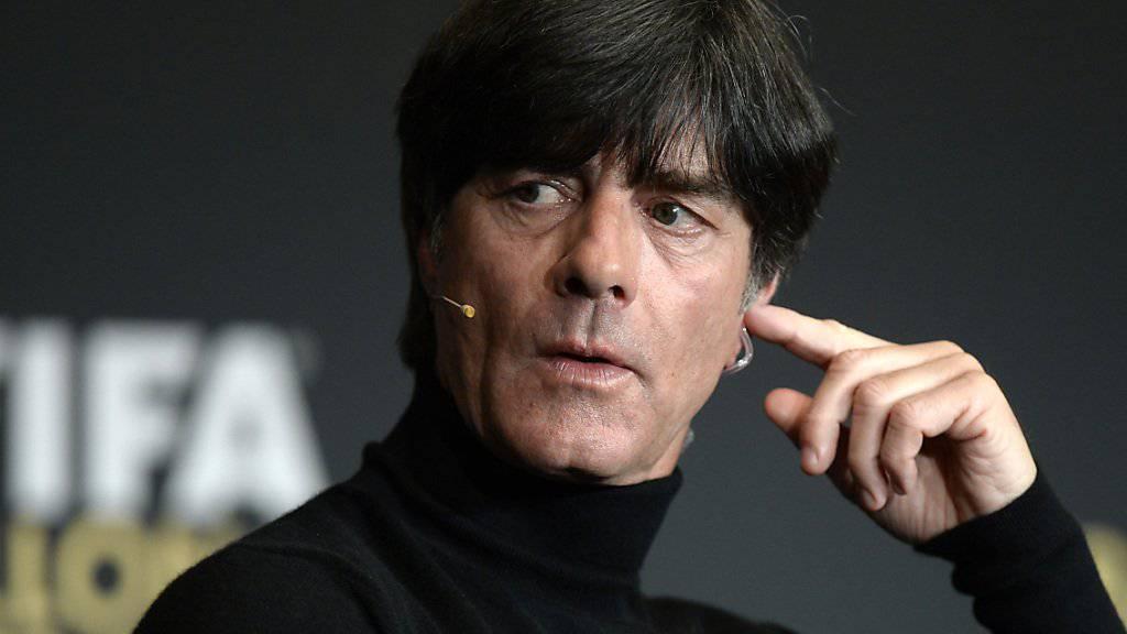 Deutschlands Bundestrainer Joachim Löw warnt vor der Ukraine