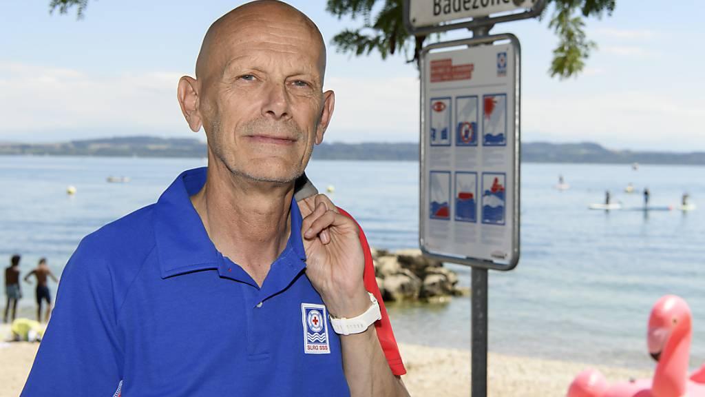 Der ehemalige «Mister Corona» und Covid-19-Experte des Bundes, Daniel Koch, ist neu Botschafter der Schweizerischen Lebensrettungsgesellschaft (SLRG).