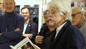 Markus Manfred Jung stellte sein Buch vor.