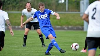 Liga-Topskorer Simon Affentranger vom SC Fulenbach (25 Tore).