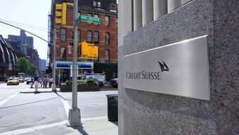 Bank gegen Bank: Die Abu Dhabi Commercial Bank klagt wegen riskanten Finanzvehikeln in New York gegen Credit Suisse.