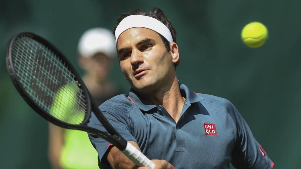 Roger Federer scheitert in Halle bereits im Achtelfinal