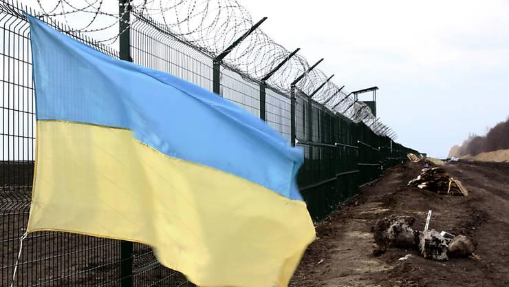 Russisch-ukrainische Grenze: Nach dem Inkrafttreten des Freihandelsabkommens zwischen der Ukraine und der EU fürchtet Russland Nachteile durch zollfreie Importe. (Symbolbild)