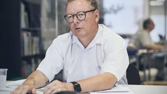 «Wir haben gestaunt, womit argumentiert wurde»: Salinen-CEO Urs Hofmeier über den Widerstand gegen das Abbauprojekt auf der Muttenzer Rütihard, das mittlerweile sistiert worden ist.