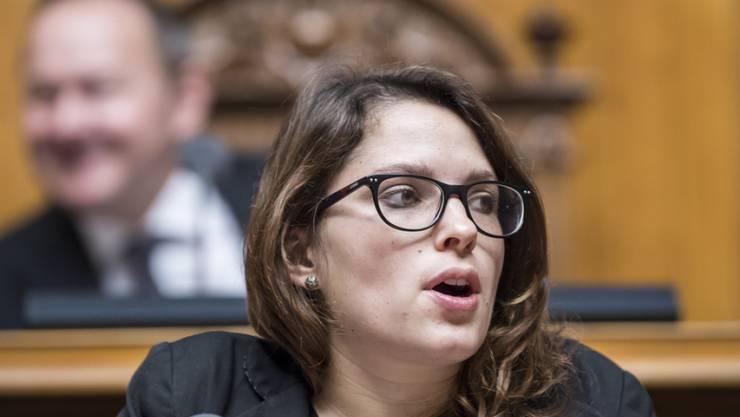 Mattea Meyer ist Mutter einer Tochter geworden. Für wichtige Geschäfte reist die SP-Nationalrätin auch während des Mutterschaftsurlaubs ins Bundeshaus. (Archivbild)