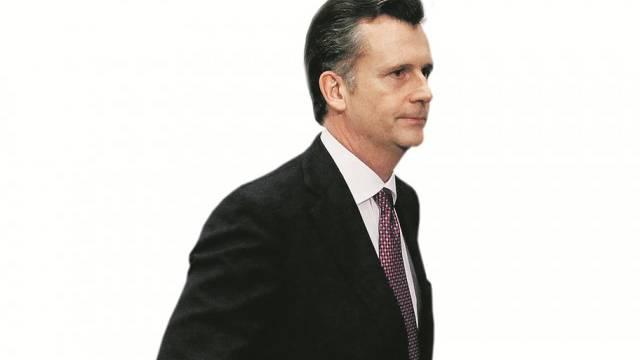 Ex-Nationalbankpräsident Philipp Hildebrand. Foto: Peter Klaunzer