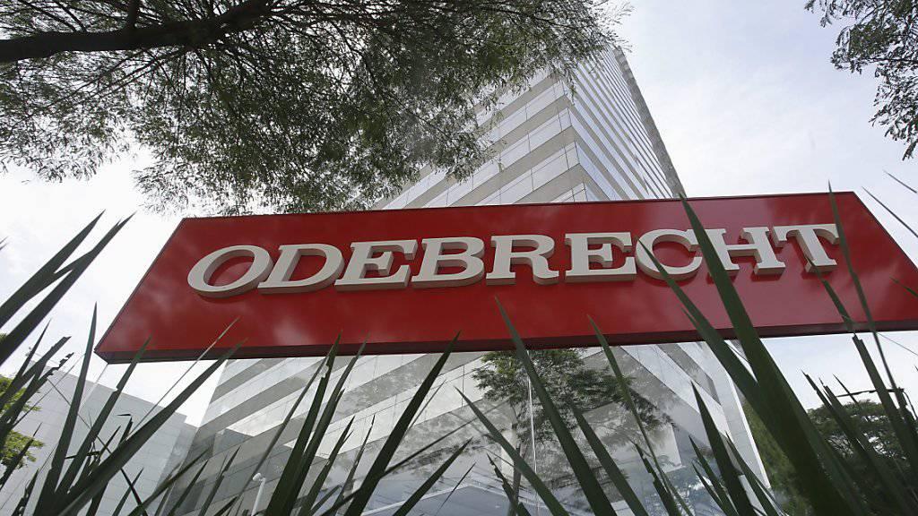Hauptsitz des Baukonzerns Odebrecht in der brasilianischen Metropole Sao Paulo. (Archivbild)