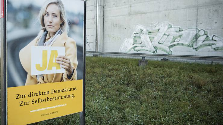 Die Kampagne der SVP war für viele Stimmende nicht glaubwürdig. (Archivbild)