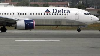 Ein Flugzeug der Delta Airlines (Symbolbild, Archiv)
