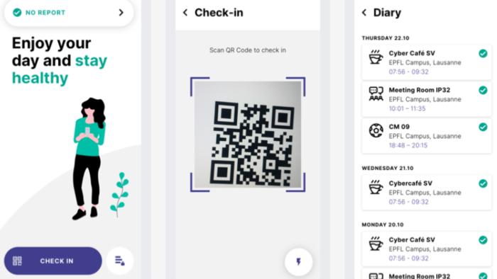 NotifyMe App Printscreen