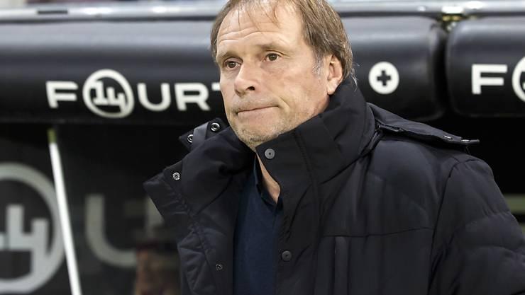 Trainer Alain Geiger führt Servette Richtung Aufstieg
