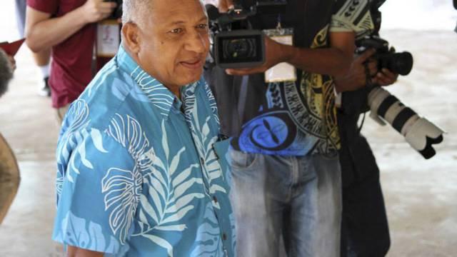 Vom Diktator zum Staatsmann: Bainimarama in Fidschi (Archiv)