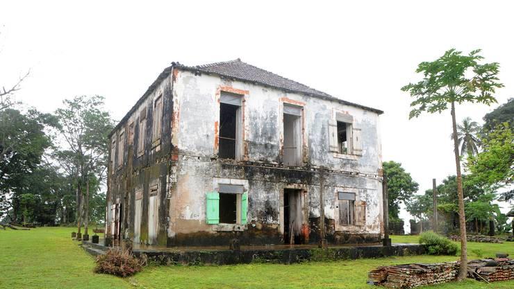 Das Herrenhaus der Planage Terreiro Velho von Claudio Corallo.