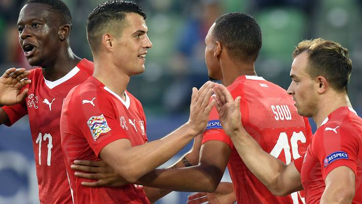 Nach der 6:0 Gala gegen Island wollen die Schweizer ihre Form gegen den WM-Vierten England bestätigen.