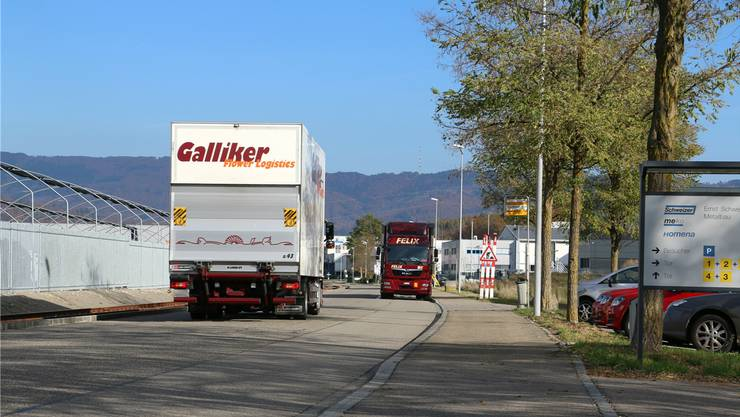 Die Bäumlimattstrasse in Möhlin soll im Sommer saniert werden. DKA/Archiv