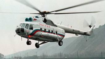 Ein russischer Helikopter des Typs Mi-8 (Symbolbild)