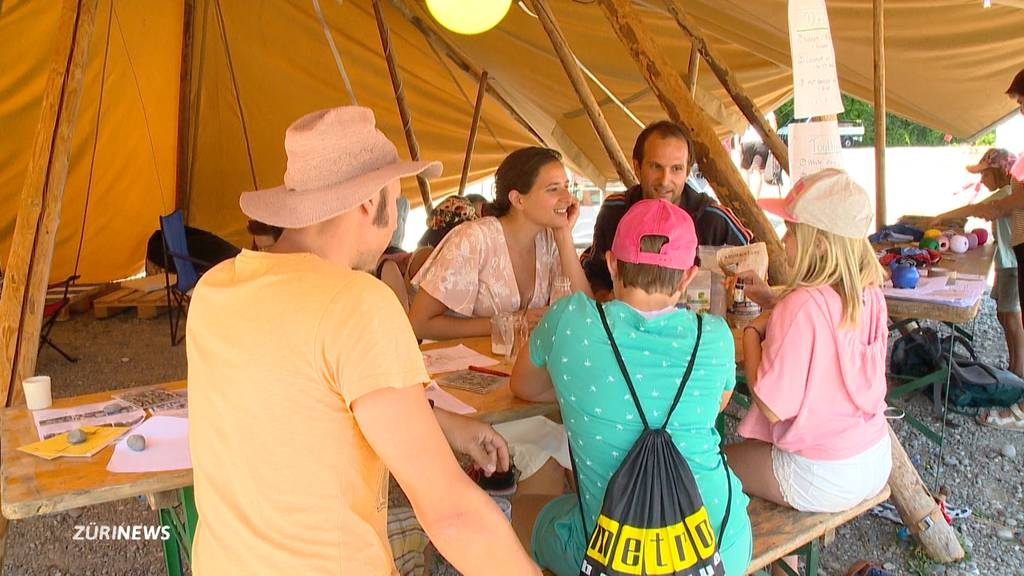 Erstes Klimafestival: Andrang hält sich noch in Grenzen