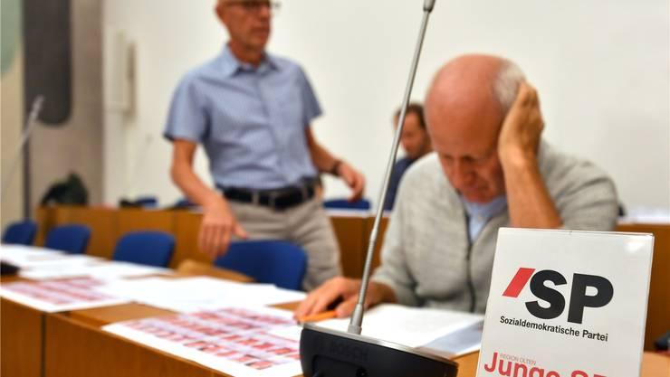 Die SP/Junge-SP-Fraktion beantragt im Parlament eine Steuererhöhung. BKo/Archiv