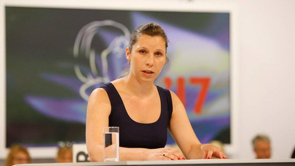 Die Schweizerin Gianna Molinari holte am Wettlesen um den Bachmannpreis den vierten, den 3sat-Preis. (zVg)