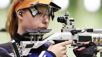 Nina Christen zielte ganz genau und gewinnt die Goldmedaille