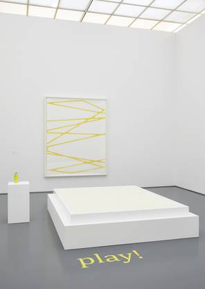 Florale Interpretation von Martin Grossenbacher und Team, Zürich zum Werk von Karim Noureldin, Play, 2014