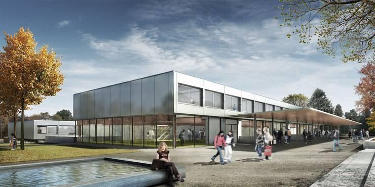 Schulanlage Pfaffechappe, budgetiert mit 20 Mio. Franken zwischen 2018–2022