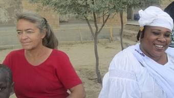 Die von Islamisten getötete Basler Missionarin (links) in einer Aufnahme vom Januar 2014 in Mali. (Archivbild)