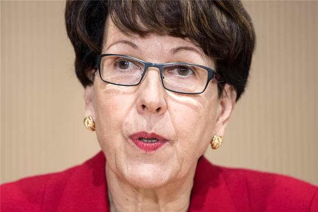 Von Postauto AG hintergangen oder Mitwisserin? Susanne Ruoff, CEO der Post.