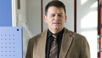 Geschäftsführer Werner Kaufmann in Künten. Alex Spichale