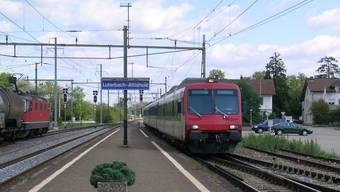 Der Bahnhof Luterbach: In der Nacht auf Sonntag kam es hier zu einem Entreissdiebstahl.