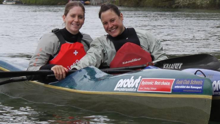 Solothurner Medaillenanwärterinnen: Melanie Mathys (l.) und Chantal Abgottspon. Reto Schläppi
