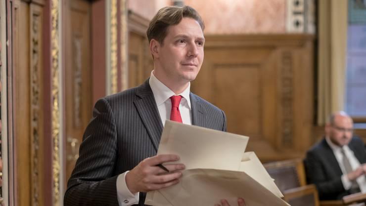 SP-Grossrat und GPK-Präsident Tobit Schäfer