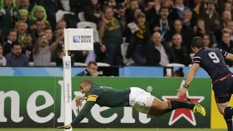 Südafrikas Spieler Bryan Habana gelangen gegen die USA gleich drei Tries.