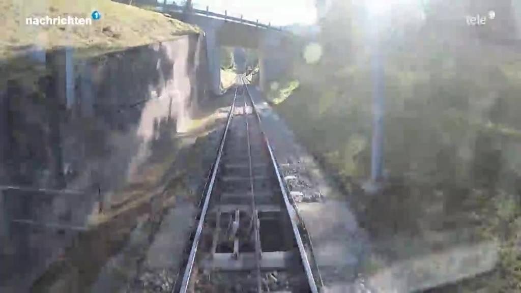 Zugerberg Bahn wird saniert