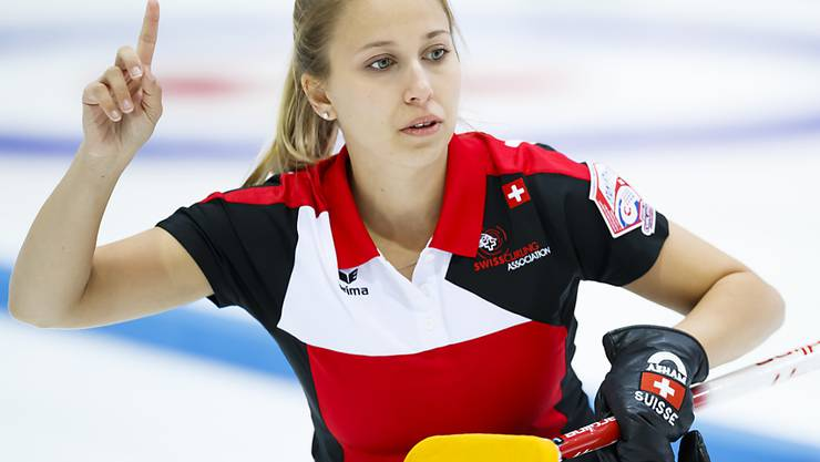 Elena Stern ist ein neuer Stern im Schweizer Curling - und im Weltcurling