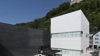 Als weissen Würfel bezeichnen die Architekten den Erweiterungsbau des Kunstmuseums Liechtenstein (Archiv)