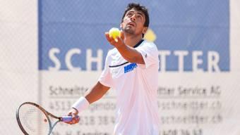 Die Spieler der Tennisklubs Schützenmatt und Trimbach haben in der ersten Runde verloren.