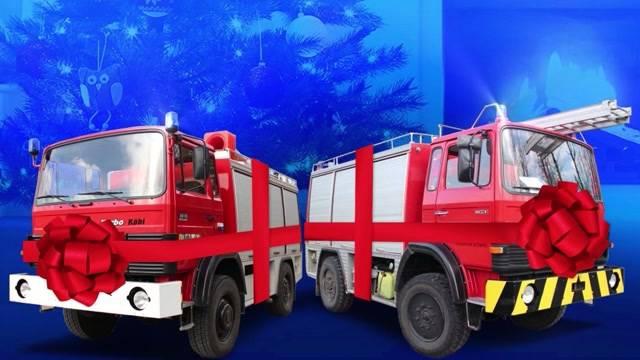 Weihnachtsgeschenk für Feuerwehrmänner