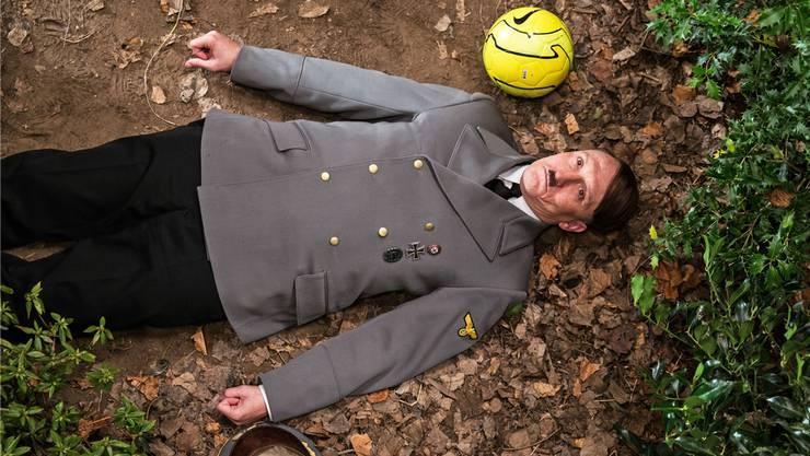 Adolf Hitler (Oliver Masucci) wird ins Deutschland des Jahres 2014 katapultiert. Constantin Film