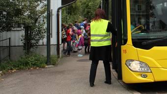 Neu fährt ein Entlastungsbus direkt nach Villmergen. (Symbolbild)