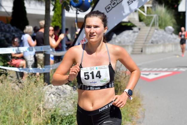 Frauen-Siegerin Fiammetta Troxler in Aktion - dank dem Sieg fühlt sie sich «auf der richtigen Schiene»