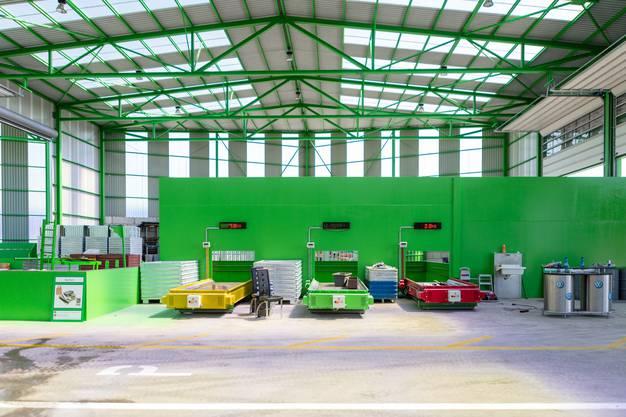 """Die Recycling-Sammelstelle """"Recycling Paradies"""" eröffnet am 10. August die vierte und ihre grösste Filiale im Aargau."""