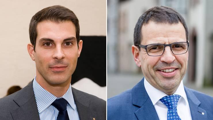 Thierry Burkart und Matthias Jauslin könnten sich einen Wechsel ins Stöckli vorstellen.