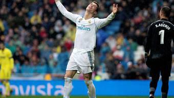 Wieder keine Sieg für Real Madrid und Cristiano Ronaldo