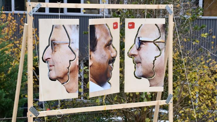 Fällt auf mit ihrer Kreativität: Die Wahlkampagne der Sozialdemokraten (SP) in Windisch für den Einwohnerrat.