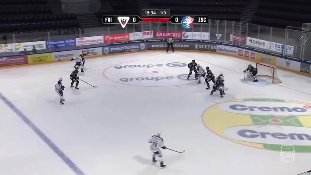 ZSC dominiert Freiburg