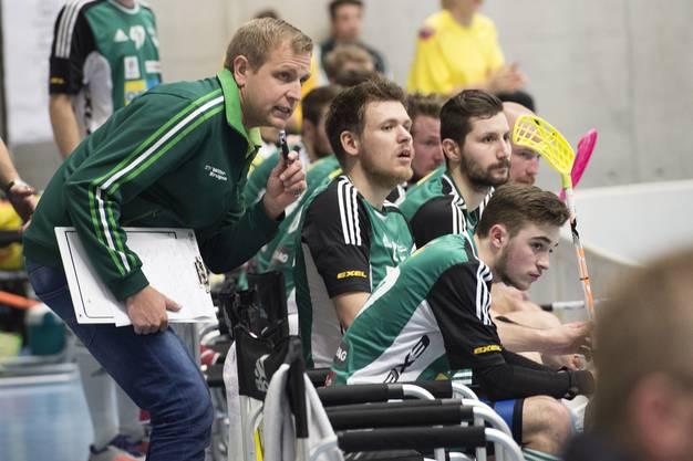 Wiler-Trainer Johann Schoenbeck.